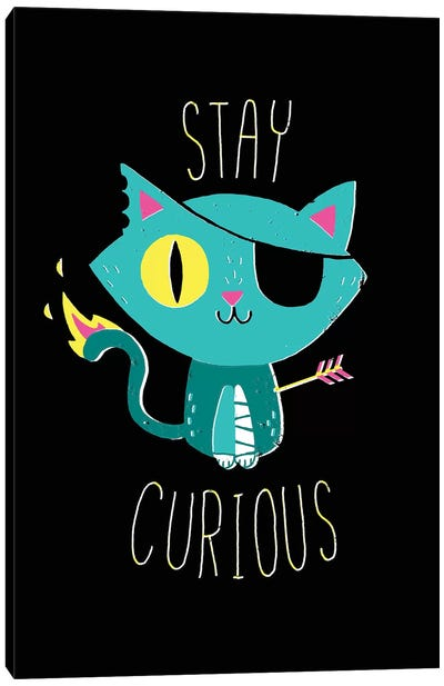 Stay Curious Canvas Art Print
