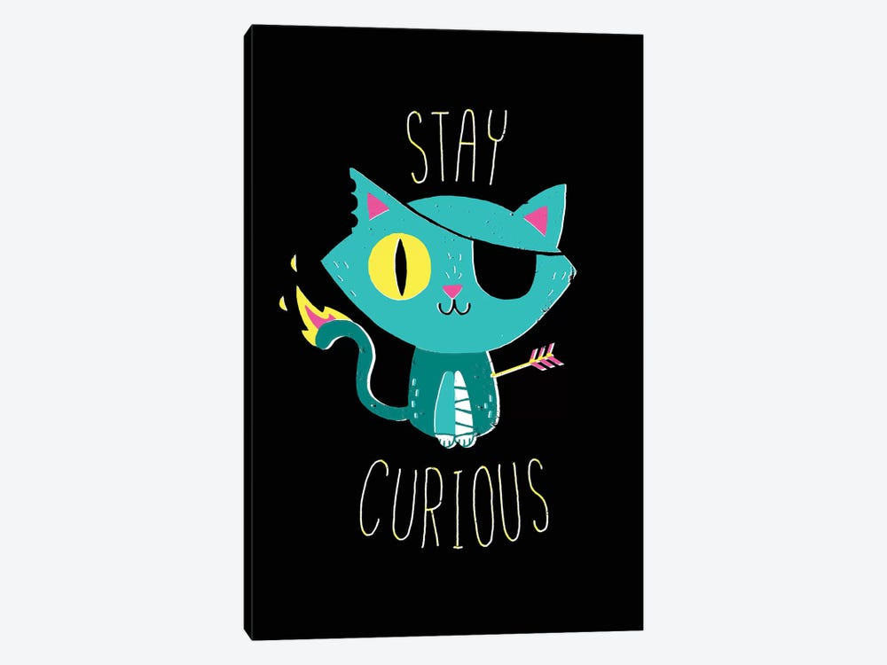 Stay Curious by Michael Buxton 1-piece Canvas Print