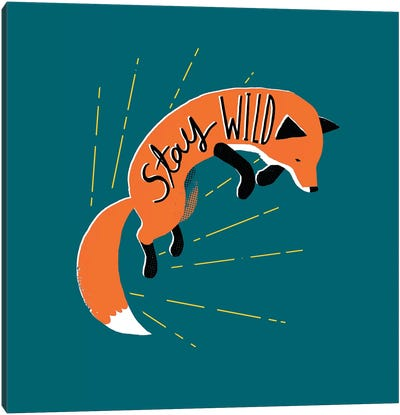 Stay Wild Canvas Art Print
