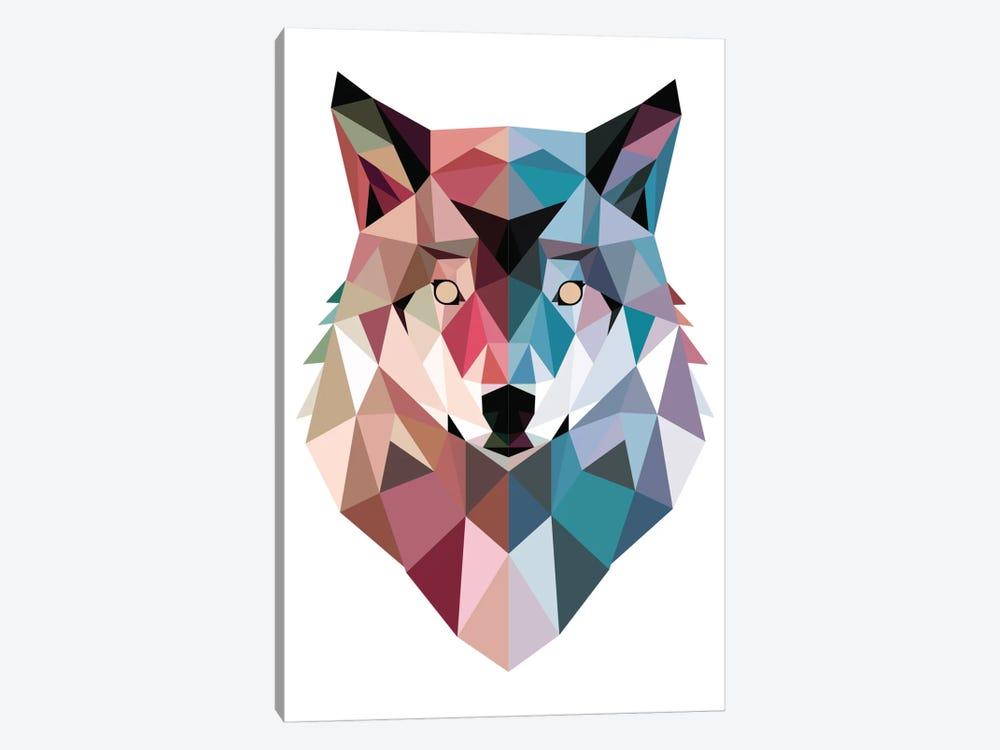 Geo Wolf by Michael Buxton 1-piece Art Print