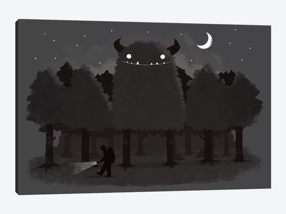 Monster Hunting by Michael Buxton 1-piece Canvas Artwork