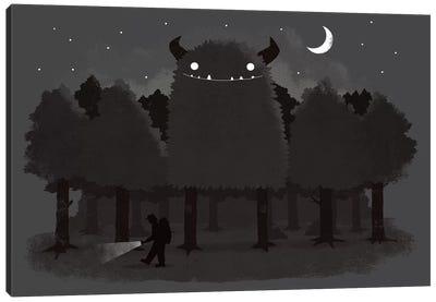 Monster Hunting Canvas Art Print