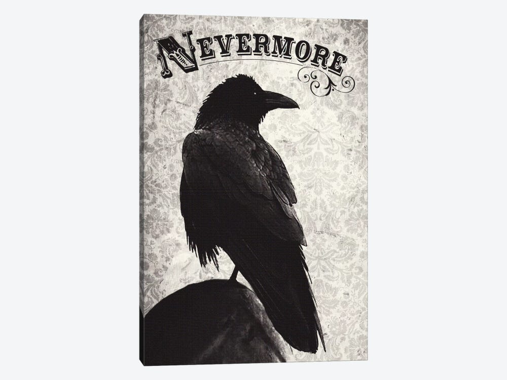Nevermore by Michael Buxton 1-piece Canvas Print