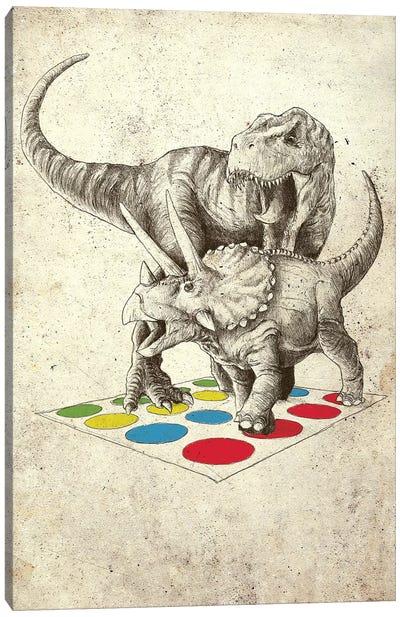 The Ultimate Battle Canvas Art Print