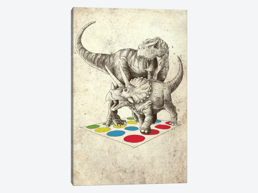 The Ultimate Battle by Michael Buxton 1-piece Canvas Print