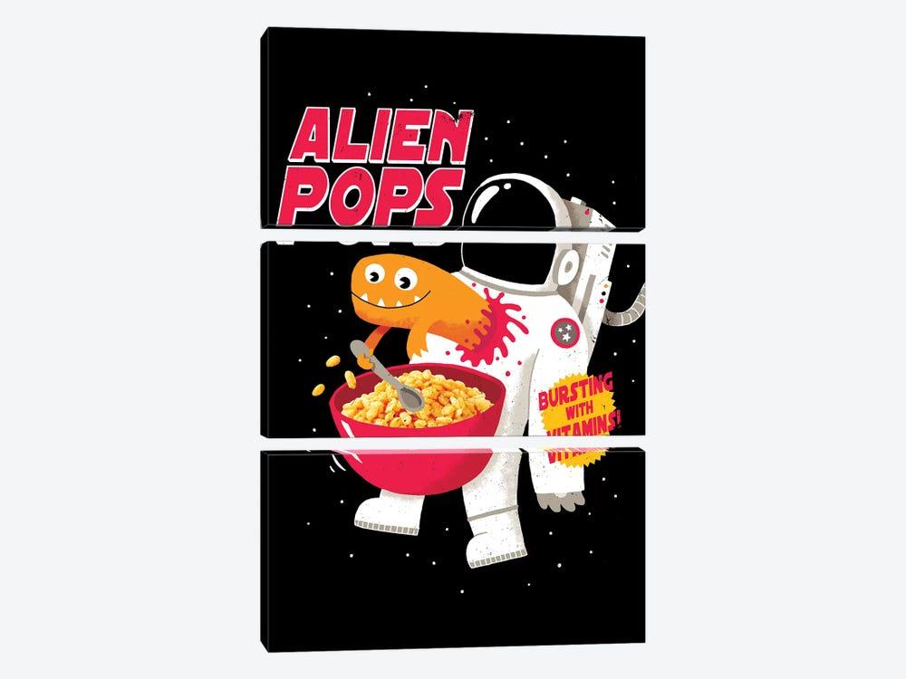 Alien Pops by Michael Buxton 3-piece Canvas Art