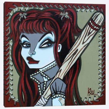 Diamond Girl Canvas Print #BVH11} by Bev Hogue Canvas Print