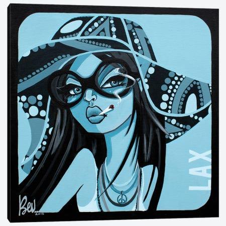 LAX Canvas Print #BVH24} by Bev Hogue Canvas Print