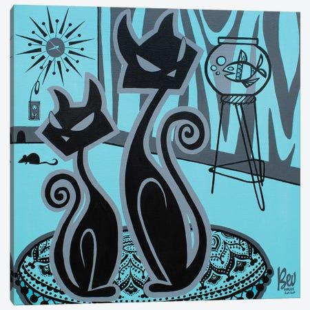 Cats Eye Canvas Print #BVH7} by Bev Hogue Canvas Print