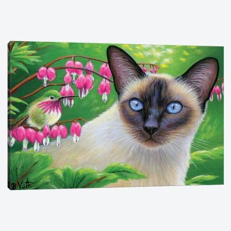 In Isabelle's Garden Canvas Print #BVT168} by Bridget Voth Art Print