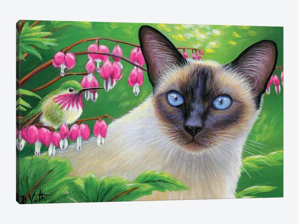 In Isabelle's Garden by Bridget Voth 1-piece Art Print