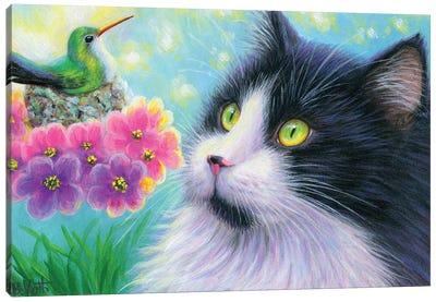 A Jewel In The Garden III Canvas Art Print