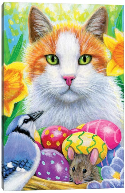 Lightning's Easter Canvas Art Print