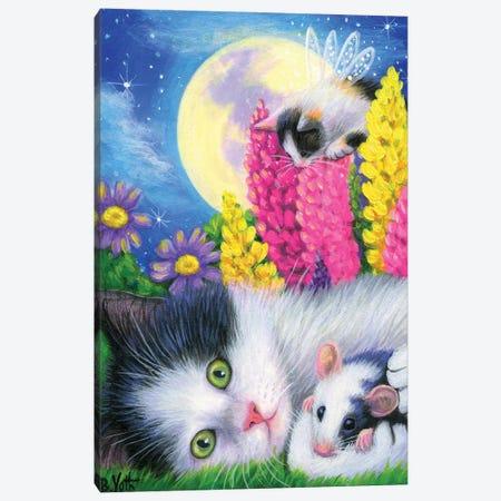 Magic In The Moonlight Canvas Print #BVT209} by Bridget Voth Canvas Wall Art
