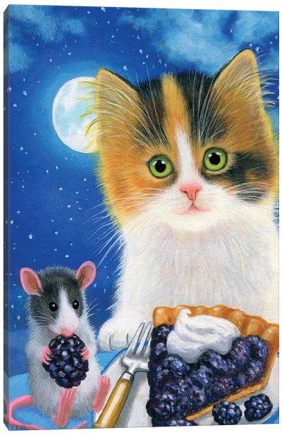 A Midnight Snack Canvas Art Print