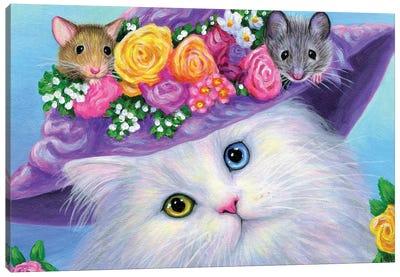 Moonbeam's Easter Canvas Art Print