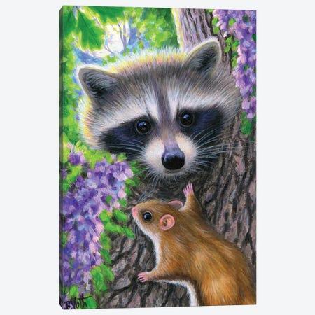 Night Owls Canvas Print #BVT242} by Bridget Voth Canvas Artwork