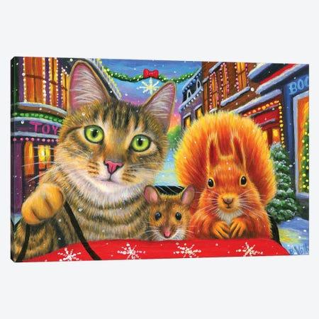 Sleigh Ride8 Canvas Print #BVT265} by Bridget Voth Canvas Art Print