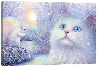 Snowflakes For Sachi Canvas Art Print