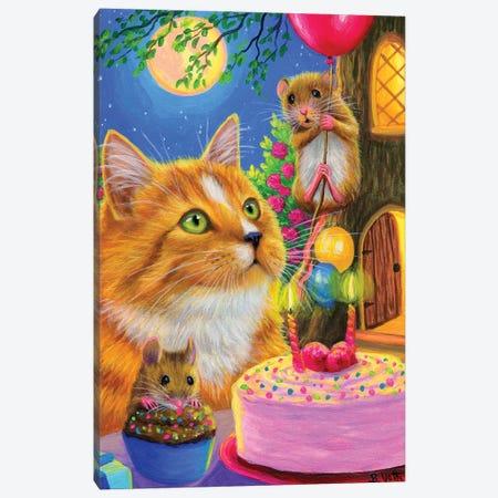 Spot's Birthday Canvas Print #BVT271} by Bridget Voth Canvas Art Print