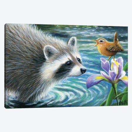 Spring Serenade Canvas Print #BVT278} by Bridget Voth Canvas Art Print