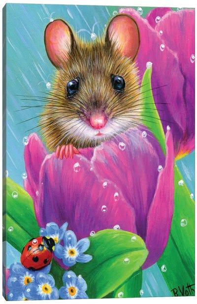 Spring Showers Canvas Art Print
