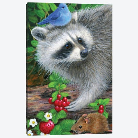 Summers Bounty Canvas Print #BVT289} by Bridget Voth Canvas Art