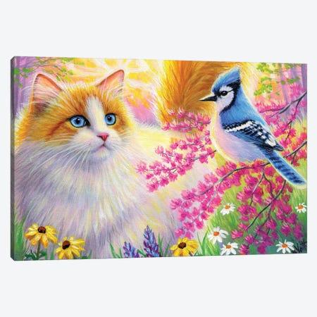 Sunshine In Ambers Meadow Canvas Print #BVT290} by Bridget Voth Canvas Art Print