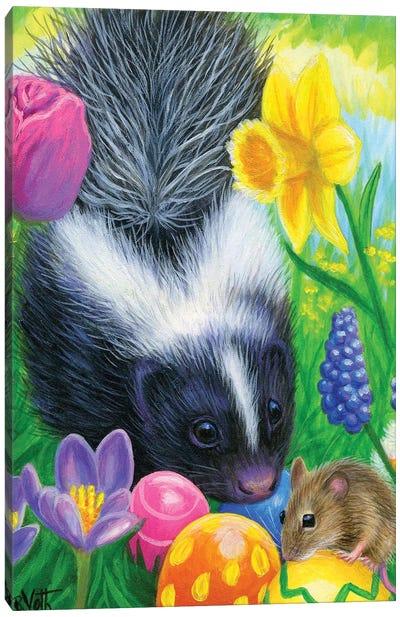Sweetpea's Easter Canvas Art Print