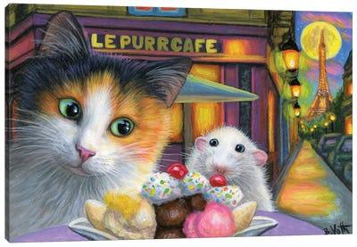 A Paris Romance Canvas Art Print