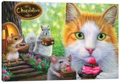 The Chocolaterie Canvas Art Print