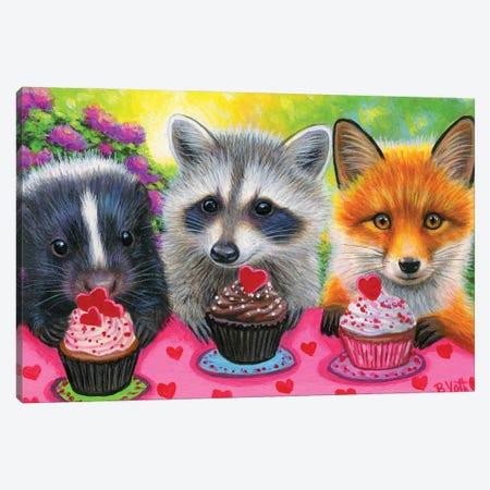 The Valentine Party Canvas Print #BVT319} by Bridget Voth Canvas Art