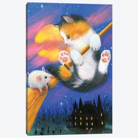 The Witch's Broom Canvas Print #BVT320} by Bridget Voth Art Print
