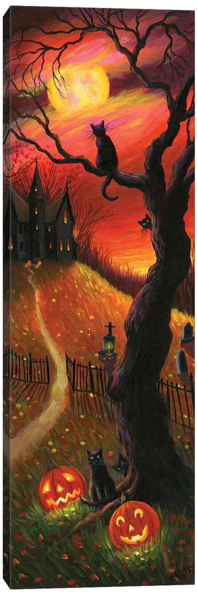 The Witch's Home V Canvas Art Print