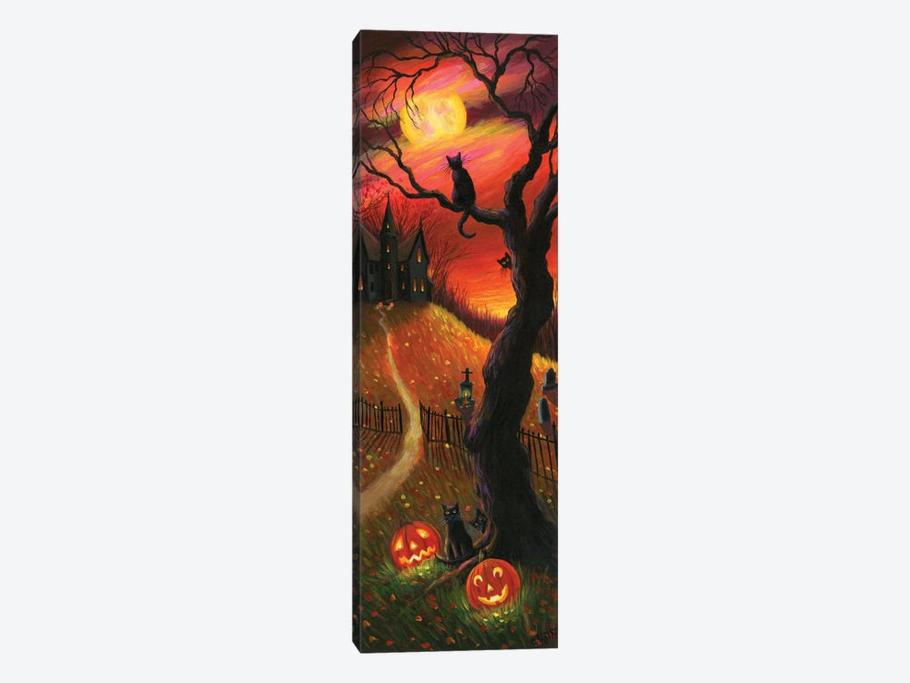 The Witch's Home V by Bridget Voth 1-piece Canvas Print