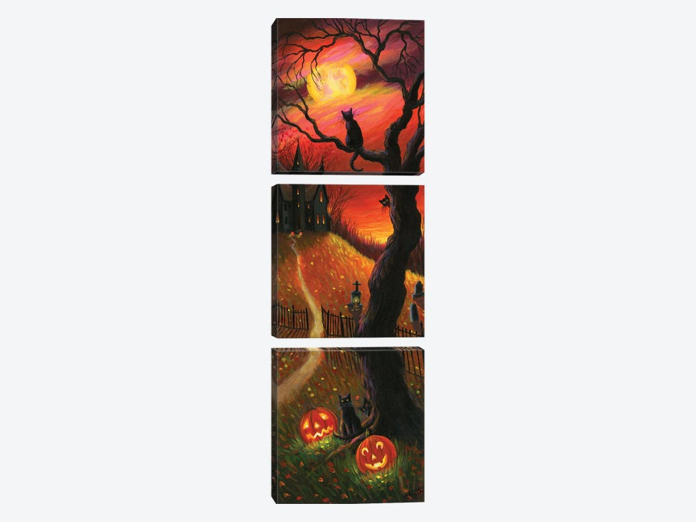The Witch's Home V by Bridget Voth 3-piece Art Print