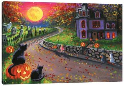 A Spooky Night I Canvas Art Print