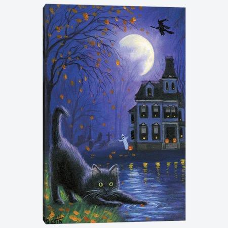 Witch's Moon Canvas Print #BVT351} by Bridget Voth Canvas Wall Art