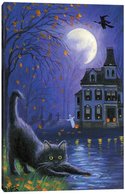 Witch's Moon Canvas Art Print