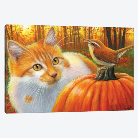 An Autumn Song IV Canvas Print #BVT50} by Bridget Voth Art Print