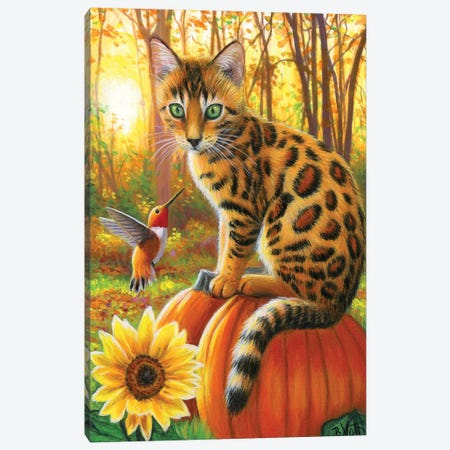Baxter's Fall Day  III III Canvas Print #BVT65} by Bridget Voth Art Print
