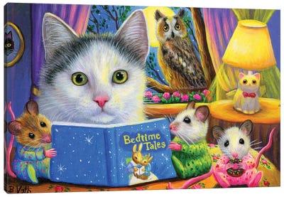Bedtime Tales Canvas Art Print