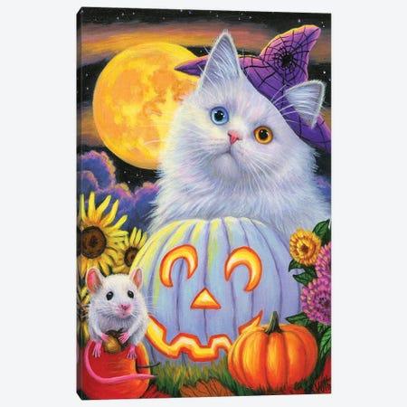 Boo's Halloween Canvas Print #BVT78} by Bridget Voth Canvas Print