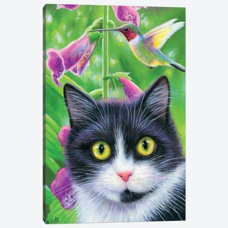 Buzzing Oreos Garden Canvas Print #BVT86} by Bridget Voth Art Print