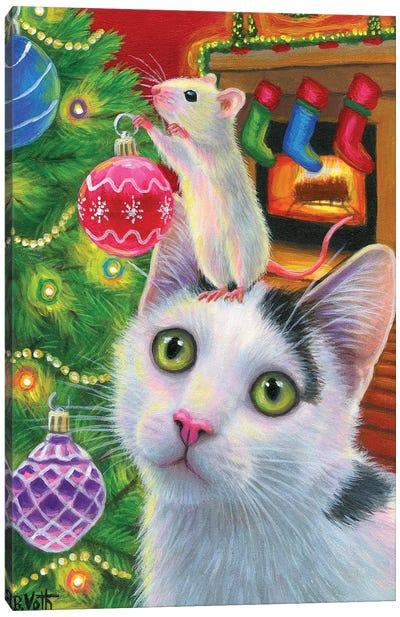 Ccs Christmas Tree I Canvas Art Print