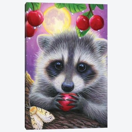 Cherry Moon V Canvas Print #BVT96} by Bridget Voth Canvas Art