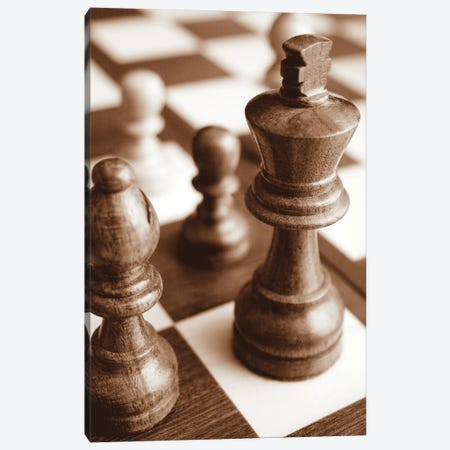 Chess Canvas Print #BWA15} by Boyce Watt Canvas Artwork