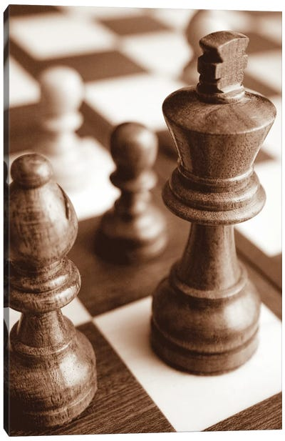 Chess Canvas Art Print