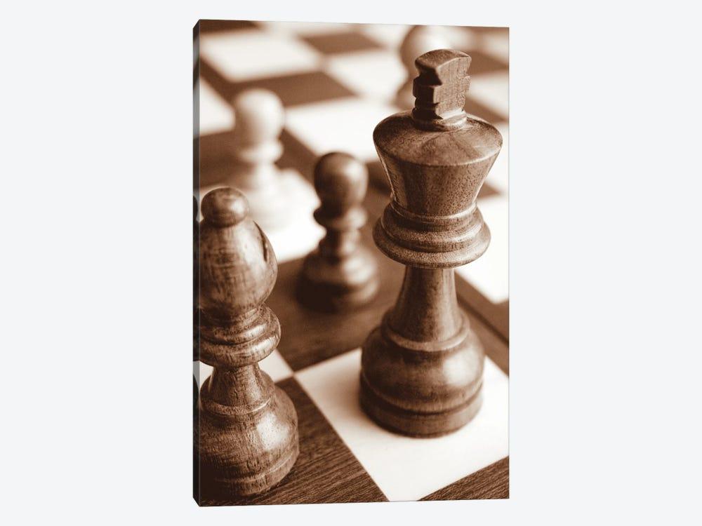 Chess by Boyce Watt 1-piece Canvas Print
