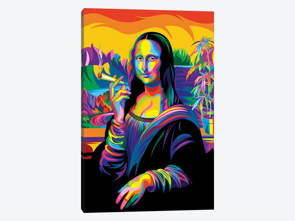 Mona Lisa 1-piece Canvas Print